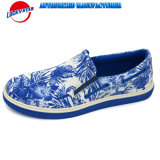 China Latest Design Flower Printing Casual Shoes with Textile