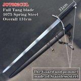 Handmade Medieval Swords with Scabbard 131cm Jot082cUL