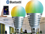 Bluetooth LED Bulbs with Smartphone APP, CE, FCC&RF Approved