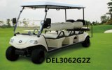 Electric Golf Car 6 Passenger Cart Electric Tour Vehicle (DEL3062G, 6-Seater)
