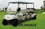 Electric Golf Car 6 Passenger Cart Electric Tour Vehicle (DEL3062G, 6-Seater)