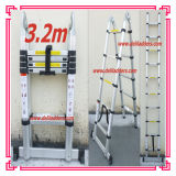 3 Position Aluminum Telescopic Extension Ladder 3.2m