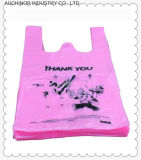 Customizable HDPE/LDPE Vest Carrier T-Shirt Bag