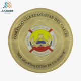 Factory Supply Enamel Round Gold Souvenir Coin for Custom