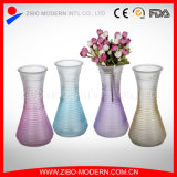 Wholesale Colored Glass Vases Sprayed Colored Glass Flower Vase