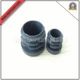 PE Black Round Caps of Furniture Fittings (YZF-C403)