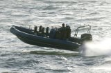 Aqualand 27feet Rigid Inflatable Rescue Patrol/Fiberglass Rib Boat (RIB830A)