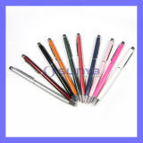 Aluminum Stylus 2 in 1 Touch Pen for iPhone iPad Samsung Galaxy HTC Customize Logo