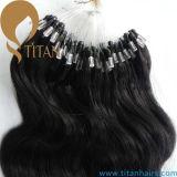 Body Wave Human Hair Micro Loop Ring Hair Extension
