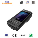 Andorid Industrial PDA with Fingerprint Reader RFID and Barcode Scanner