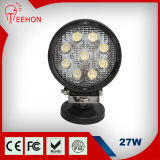1980lm 27W IP67 Waterproof Round LED Work Light
