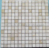 Cream Marfil Beige Marble Mosaic for Wall