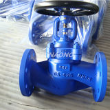 DIN Wcb Manual Type Globe Valve with Flange