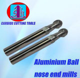 Solid Carbide End Mills with Aluminum Long Shank