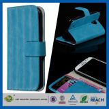 New Style Leather Flip Stand Back Cover for Galaxy S4