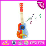 Hotest Mini Guitar Toy Kids Mini Toy Guitar, Wooden Toy Mini Guitar for Children, Music Instrument Wooden Guitar Toy W07h033