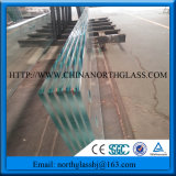 3-19mm Clear Tempered Glass Toughened Glass with Ce, En, Igcc, Csi Certificated