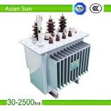 3phase Copper 33kv 24kv 11kv Power Distribution Oil Transformer