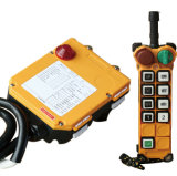 8 Push Button Industrial Wireless Crane Radio Remote Control for Electric Hoist with Emergency Button (F24-8s)