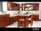 2015 Newstyle Classic Solid Wood Kitchen Cabinet