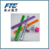 Factory Direct Price Custom PVC Slap Wristband