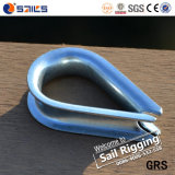 Us Type Carbon Steel Wire Rope Thimble G-411 for Sale