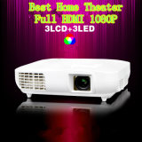 1920*1080 1080P Full HDMI LED Projector