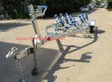 Galvanized Boat Trailer with Rollers Tr0200s