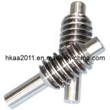 Custom Machining Stainless Steel Micro Worm Gear Screw and Shaft