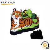 Customized Animal Shaped Soft PVC Ice Box Magnets Ym1074