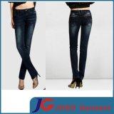 Dark Blue Women Supper Tight Jean Pants (JC1204)