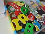 Hot Sale Preschool Educational Magnetic Wooden Magnet Letters