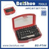 44-PCS Combination Tools Kit, Magnetic Screwdriver Bit Set