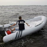 Liya 4m-5.2m Fiberglass Inflatable Pontoon Boats Wholesale