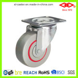 100mm Swivel Plate Noise Reduced Casters (P102-51D100X33)