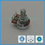 16mm Rotary Potentiometer Single Gang for Audio Equipment