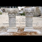 White Marble Column for Home Decoration Mcol-308