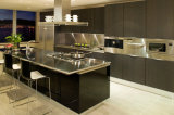 Melamine Series UK Style Kitchen Cabinet (Br-M012)