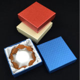 Diamond Pattern/Grain Paper Jewelry Gift Packing Box (JB-019)