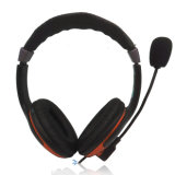 CE and RoHS Approved Headset Headphone with Mic for PC