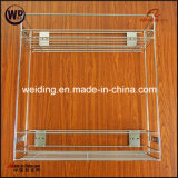 Deep Pull Outpull-out Closet Chrome Baskets