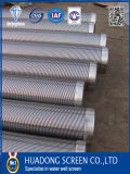 Johnson Type Wire Wrapped Screen Pipe/Stainless Steel Water Well Filter