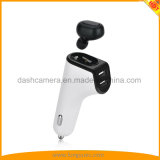 2 in 1 Car Charger Wireless Bluetooth Headphone with Dual USB Ports Bluetooth V4.1