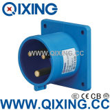 IP44 32A Panel Mounted Plug for Industrial Application (QX-817)