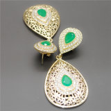 2014 Accessories Color 24k Alloy Eardrop of Oil and Water Drops Fashion Jewelry (E130002)
