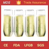 Wholesale Bulk Stemless Champagne Flute Glass
