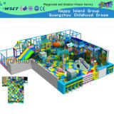 Indoor Playground Equipment Naughty Castle with Slide (H14-00714)