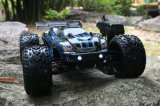 2 Channel Transmitter RC off Road Truggy 2.4GHz Electric Brushless RC Car Model