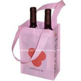 Eco-Friendly Non Woven Wine Bag Tote Bags for 2 Bottles