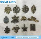 Retro Metal Necklace Pendant Custom Metal Bracelet Pendant Jewelry